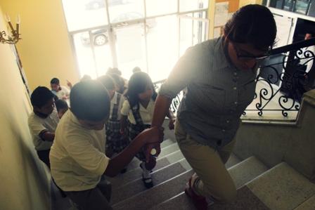 Dentro del Programa  REYNOSA TAMAULIPAS UN PASEO POR SU HISTORIA , los alumnos de la Escuela Primaria  Leonel Quiroz  Delgada visitaron la Casa de la Cultura de Reynosa
