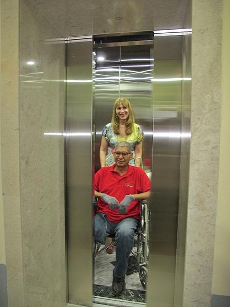 Cumpliendo con el objetivo de dar acceso a todos se instalo el elevador en La Casa de la Cultura de Reynosa.