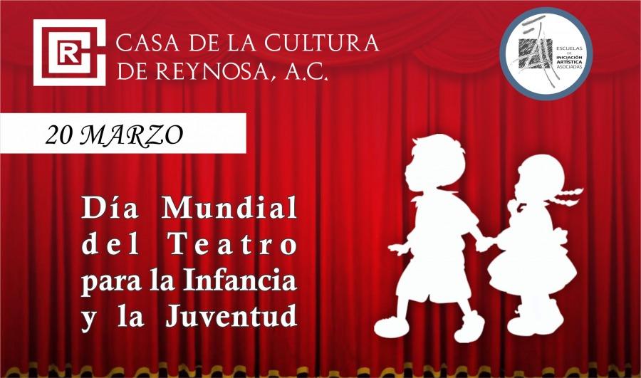 Día mundial del teatro para la infancia y la juventud.